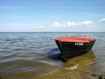 Baltic sea. Latvia Royalty Free Stock Photography