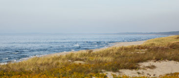The Baltic sea at autumn time Stock Images