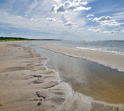 Baltic sea beach Stock Images