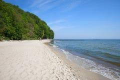 Baltic Sea Beach in Gdynia Stock Photos