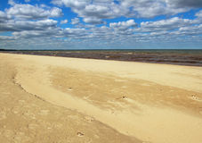 Baltic sea beach. Stock Photo
