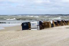 Baltic sea beach Royalty Free Stock Photos