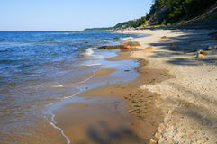 Baltic Sea Beach Royalty Free Stock Images