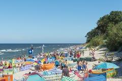 Baltic sea beach Royalty Free Stock Image