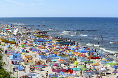 Baltic sea beach Stock Images