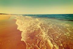 Baltic sea beach Royalty Free Stock Photo