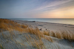 Baltic sea at beautiful landscape, dune Royalty Free Stock Photo