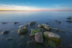 Baltic sea at beautiful landscape Royalty Free Stock Images