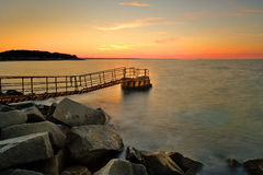 Baltic sea at beautiful landscape Stock Images