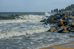 Baltic sea at beautiful landscape Stock Image