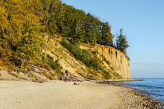 Baltic Sea at beautiful landscape, Gdansk, Poland Royalty Free Stock Photography