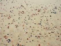 Baltic sea and beautiful stones, Lithuania Royalty Free Stock Photography