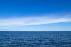 Baltic sea and blue sky Stock Photography