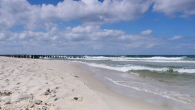 Baltic sea calm stock footage
