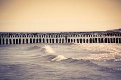 Baltic sea. Chalupy beach.Poland Royalty Free Stock Photo