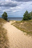 Baltic sea coast Royalty Free Stock Photography