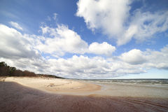 Baltic sea coast. Royalty Free Stock Images