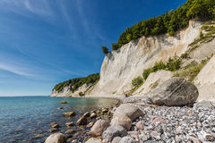 Baltic Sea coast. The Baltic Sea coast on Ruegen (Germany Stock Photo