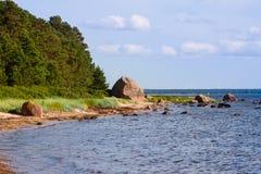 The Baltic Sea coast Stock Photos