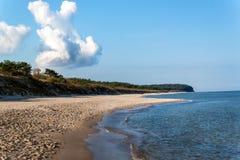 Baltic Sea Coast. Cold autumn morning on the beach. Soil erosion. Seashore. Baltic Sea Coast. Cold autumn morning on the beach. Soil erosion. Seashore royalty free stock photos
