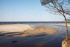 Baltic sea coast. Royalty Free Stock Photos