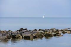 Baltic Sea coast on the island Ruegen, Germany Stock Photography