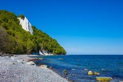 Baltic Sea coast on the island Ruegen in Germany Stock Photography