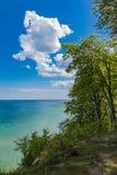 Baltic Sea coast on the island Ruegen in Germany Royalty Free Stock Photo