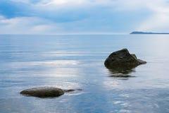 Baltic Sea coast on the island Ruegen, Germany Stock Images
