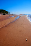 Baltic Sea coast. Kurmrags Stock Photos
