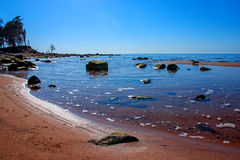 Baltic Sea coast. Kurmrags Royalty Free Stock Images