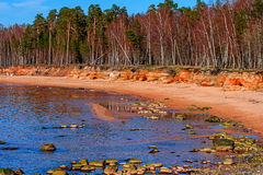 Baltic Sea coast. Kurmrags Stock Images