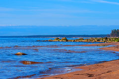 Baltic Sea coast. Kurmrags Stock Photography