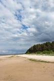 Baltic sea coast in Latvia. Royalty Free Stock Image