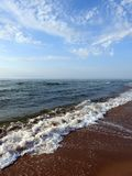 Baltic sea coast, Lithuania royalty free stock images