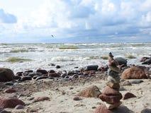 Baltic sea coast, Lithuania Royalty Free Stock Image