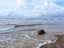 Baltic sea coast, Lithuania Stock Image