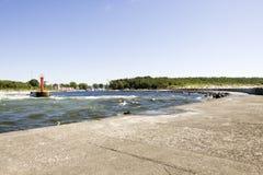 Baltic Sea Coast - Miedzyzdroje. Poland Stock Images