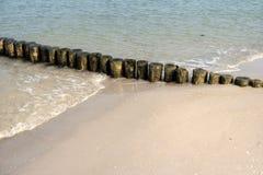 Baltic Sea Coast near Ahrenshoop Stock Images