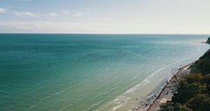 Sea coast stock video