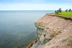 Baltic Sea coast. Saaremaa island, Estonia Stock Photos