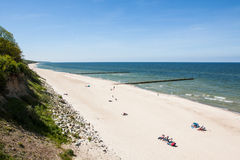 Baltic Sea coast Royalty Free Stock Photography