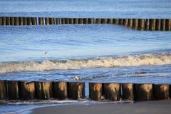 Baltic Sea coast in the winter Stock Photo