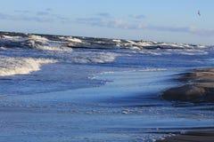 Baltic Sea coast in the winter Royalty Free Stock Photos