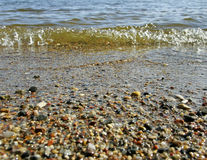 Baltic sea coastline. Stock Photos