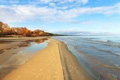 Baltic sea coastline. Royalty Free Stock Photo