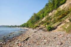 Baltic Sea Coastline in Gdynia Stock Photo