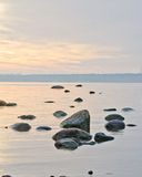 Baltic sea early in the morning Royalty Free Stock Photo