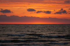Baltic sea. In the evening Royalty Free Stock Photos