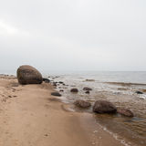 Baltic Sea and foggy morning Royalty Free Stock Photos